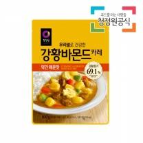 청정원 우리쌀강황바몬드카레 약간매운맛 100g