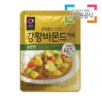 청정원 우리쌀강황바몬드카레 순한맛 100g