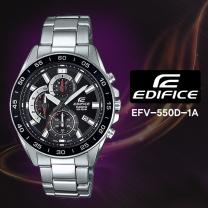 [CASIO] 카시오 에디피스 EFV-550D-1A 남성시계 메탈밴드 손목시계
