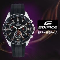 [CASIO] 카시오 에디피스 EFR-552P-1A 남성시계 우레탄밴드 손목시계