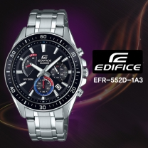 [CASIO] 카시오 에디피스 EFR-552D-1A3 남성시계 메탈밴드 손목시계