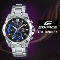[CASIO] 카시오 에디피스 EFR-557CD-1A 남성시계 메탈밴드 손목시계