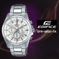 [CASIO] 카시오 에디피스 EFR-560D-7A 남성시계 메탈밴드 손목시계