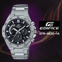 [CASIO] 카시오 에디피스 EFR-563D-1A 남성시계 메탈밴드 손목시계