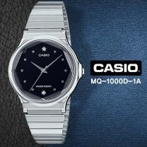 [CASIO] 카시오 MQ-1000D-1A 남여공용 다이아몬드 메탈밴드 손목시계