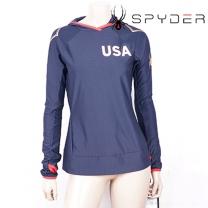 스파이더 티셔츠 /D- SPCWCIHD451-NVY / 여성용 긴팔티 캐주얼티