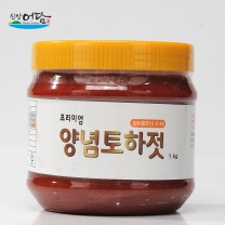 [신안새우젓]맛톡톡 양념토하젓 1kg