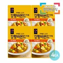 청정원 우리쌀강황바몬드 약간매운맛 100gx4개