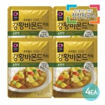청정원 우리쌀강황바몬드카레 순한맛 100gx4개