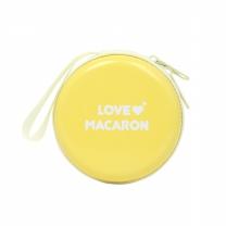 러브 마카롱 레몬 도트 콘돔 5P(콘돔케이스포함)