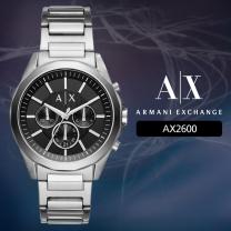 [AX] 아르마니 익스체인지 AX2600 남성시계 메탈밴드 손목시계
