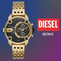 DIESEL 디젤 DZ7412 남성시계 메탈밴드 손목시계