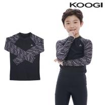 KB-L734 쿠기 남아동 수영복 상의 래쉬가드 단품