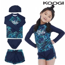 KG-L653 쿠기 여아동 수영복 상하의세트