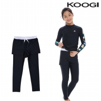 KG-L669 쿠기 여아동 수영복 하의레깅스9부 단품