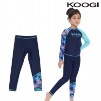KG-L667 쿠기 여아동 수영복 하의레깅스 9부 단품