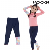 KG-L668 쿠기 여아동 수영복 하의레깅스 9부 단품
