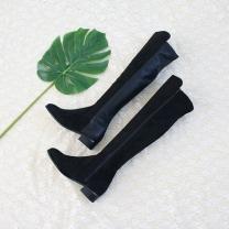 [바보사랑]로엘리 스판 롱부츠(3cm)