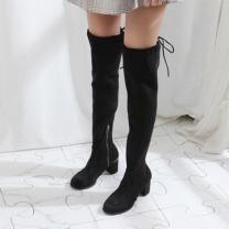 [바보사랑]아리프 스판 롱부츠(7cm)