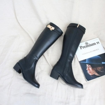 [바보사랑]로빌라 버클 롱부츠(6cm)