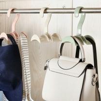 [바보사랑]아파트32 360도 회전 가방걸이 핸드백 걸이 옷장정리
