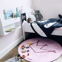 [바보사랑][Mad about mats] 로라 원형매트 100x100