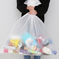 [바보사랑]모던데일 분리수거함 비닐봉투 100L(100매)