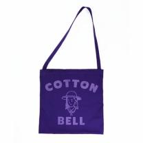 [바보사랑]Cottonbell Logo Cross Bag - Puple