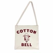 [바보사랑]Cottonbell Logo Cross Bag - Ecru