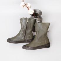 [바보사랑]로베티 리얼양가죽 미들부츠(4.5cm)