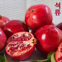 [가락24]새콤달콤석류2.5kg내외(6-8과내외)/솔빛