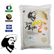 [유기농1호인증쌀]전남보성 유기농찹쌀현미(5kg)