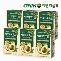 GNM자연의품격 아보카도오일 엑스트라버진 캡슐 6박스 (6개월분)