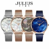 [바보사랑]쥴리어스스타 JS004 여성용 메쉬밴드 패션 손목시계