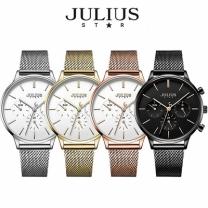 [바보사랑]쥴리어스스타 JS005 여성용 메쉬밴드 패션 손목시계 크로노그래프