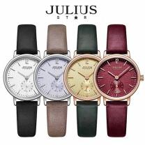 [바보사랑]쥴리어스스타 JS011 여성용 가죽밴드 패션 손목시계