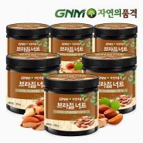 GNM자연의품격 브라질산 브라질너트 250g 6통
