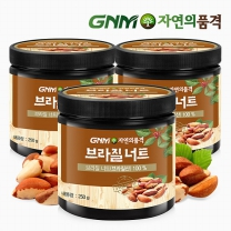 GNM자연의품격 브라질산 브라질너트 250g 3통