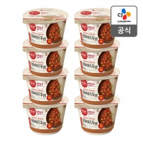 [CJ직배송]햇반 컵반 중화마파두부덮밥 X8개