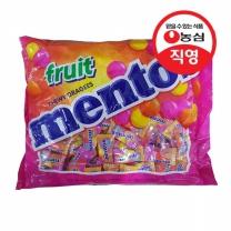 [농심직영] 멘토스 푸르티 300입(810g)