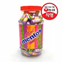 [농심직영] 멘토스 미니뉴레인보우 100입(1000g)