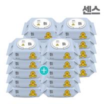 센스물티슈 블루 캡형 100매 10팩+10팩