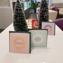 [바보사랑]아이씨엘 크리스마스 카드 - 샤인 4세트