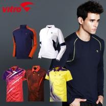 비트로/볼링/테니스/스쿼시/배드민턴/탁구복/스포츠의류/티셔츠