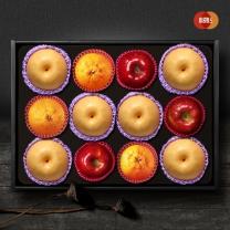 [이룸팜스]다복 명품사과.배.한라봉 혼합세트2호 5.5kg(사과3입,신고배6입,한라봉3)