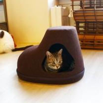 [바보사랑]고양이 캣 하우스 슈즈 숨숨집