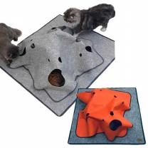 페로가토 고양이 정글매트-고양이방석 장난감 터널