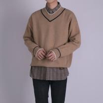 [바보사랑]캐시미어 브이넥 스웨터