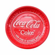 [바보사랑]코카콜라 원형 입체 틴 쟁반
