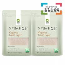 청정원 유기농황설탕 454gx2개
